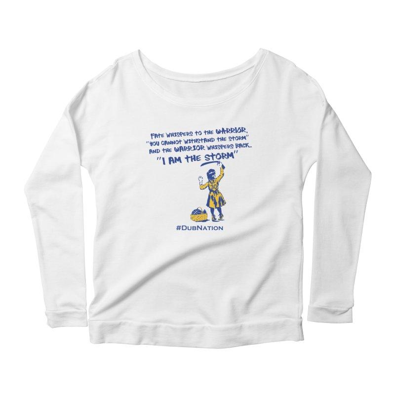I am the Storm Women's Scoop Neck Longsleeve T-Shirt by Mike Hampton's T-Shirt Shop