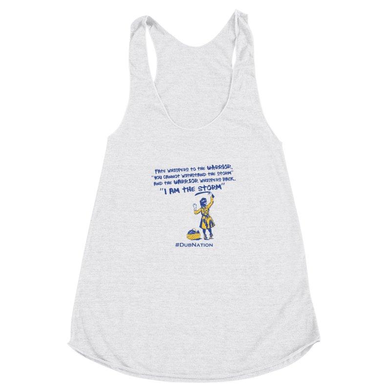 I am the Storm Women's Racerback Triblend Tank by Mike Hampton's T-Shirt Shop