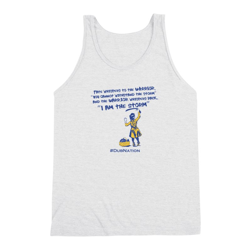 I am the Storm Men's Triblend Tank by Mike Hampton's T-Shirt Shop