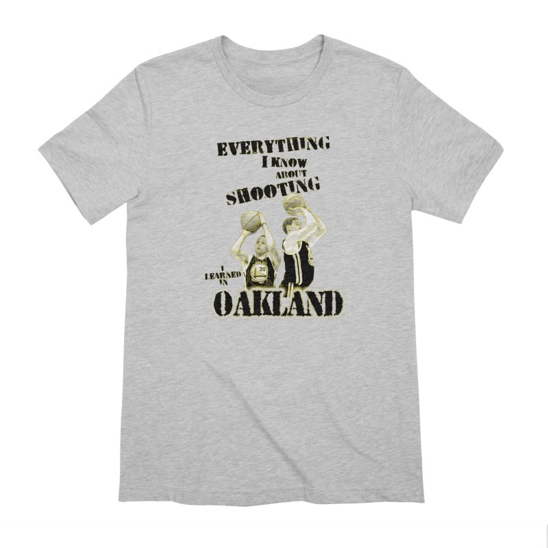 I Learned Things in Oakland Men's Extra Soft T-Shirt by Mike Hampton's T-Shirt Shop