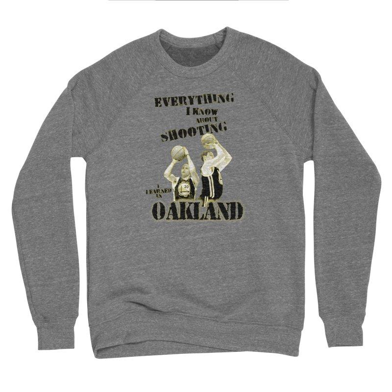 I Learned Things in Oakland Women's Sponge Fleece Sweatshirt by Mike Hampton's T-Shirt Shop