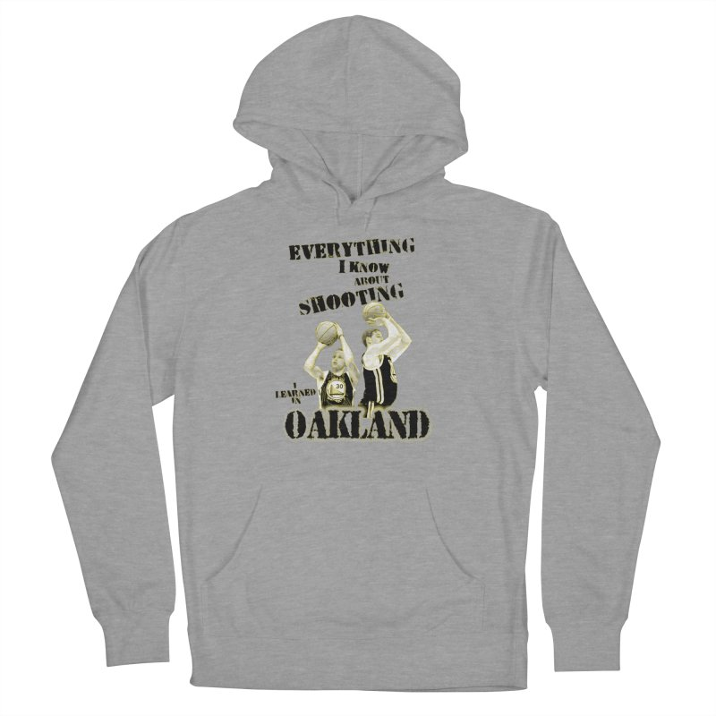 I Learned Things in Oakland Men's French Terry Pullover Hoody by Mike Hampton's T-Shirt Shop