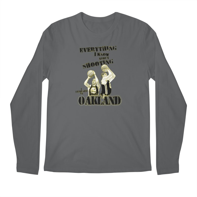 I Learned Things in Oakland Men's Regular Longsleeve T-Shirt by Mike Hampton's T-Shirt Shop