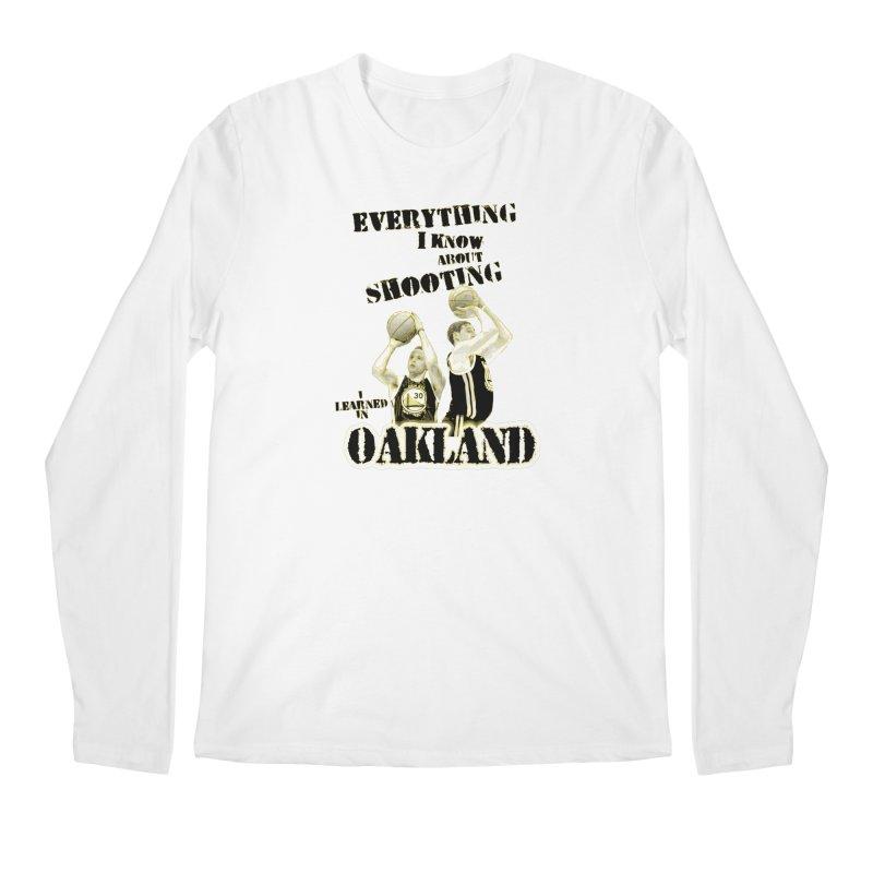 I Learned Things in Oakland Men's Regular Longsleeve T-Shirt by Mike Hampton's T-Shirt Shop