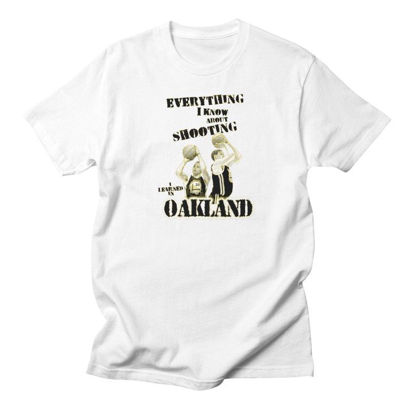 I Learned Things in Oakland Women's Regular Unisex T-Shirt by Mike Hampton's T-Shirt Shop