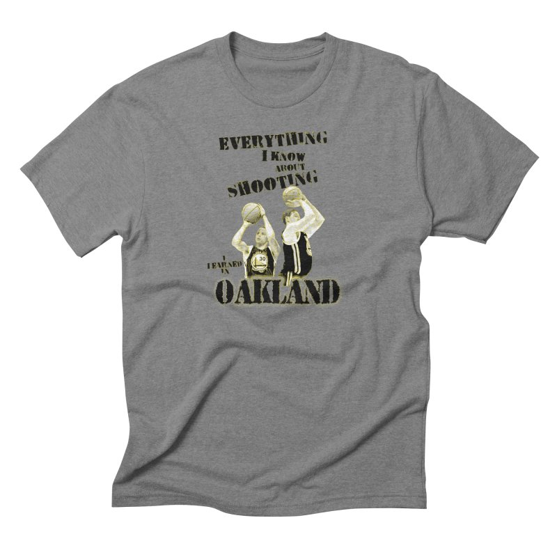 I Learned Things in Oakland Men's Triblend T-Shirt by Mike Hampton's T-Shirt Shop