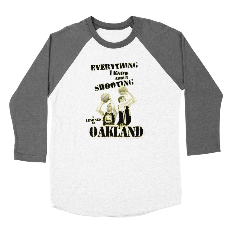 I Learned Things in Oakland Women's Baseball Triblend Longsleeve T-Shirt by Mike Hampton's T-Shirt Shop