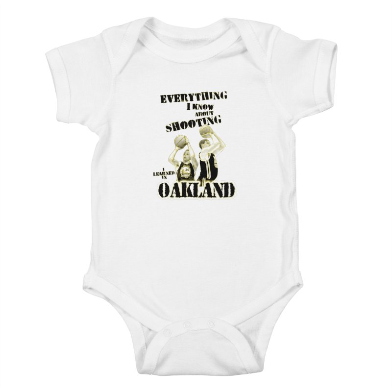I Learned Things in Oakland Kids Baby Bodysuit by Mike Hampton's T-Shirt Shop