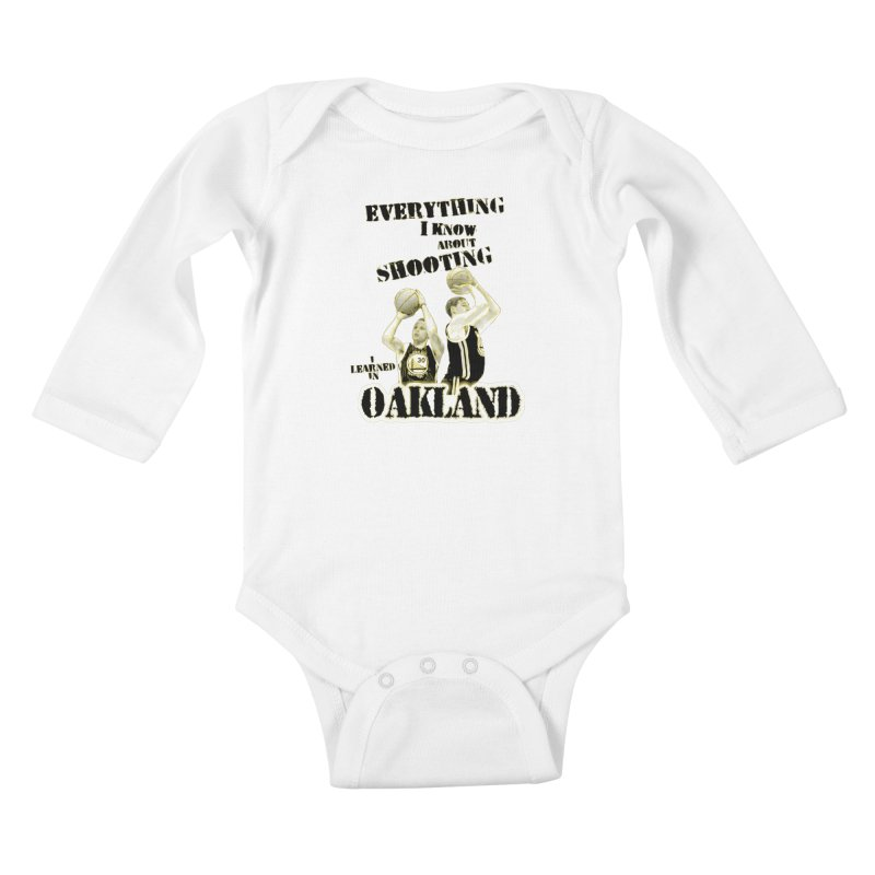 I Learned Things in Oakland Kids Baby Longsleeve Bodysuit by Mike Hampton's T-Shirt Shop