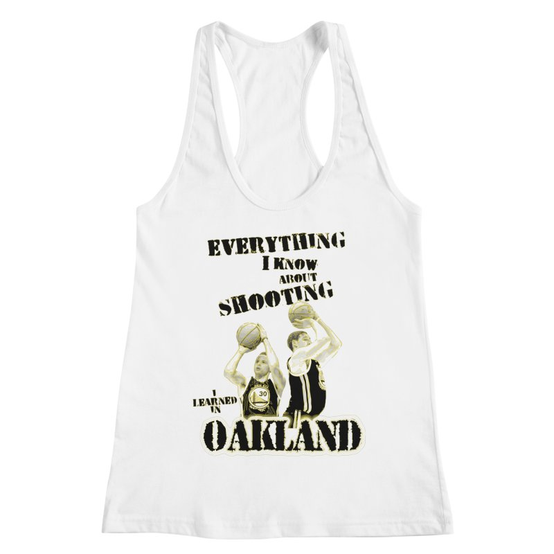 I Learned Things in Oakland Women's Racerback Tank by Mike Hampton's T-Shirt Shop