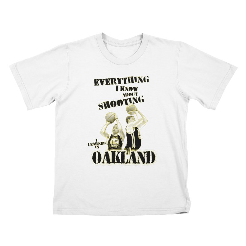 I Learned Things in Oakland Kids T-Shirt by Mike Hampton's T-Shirt Shop