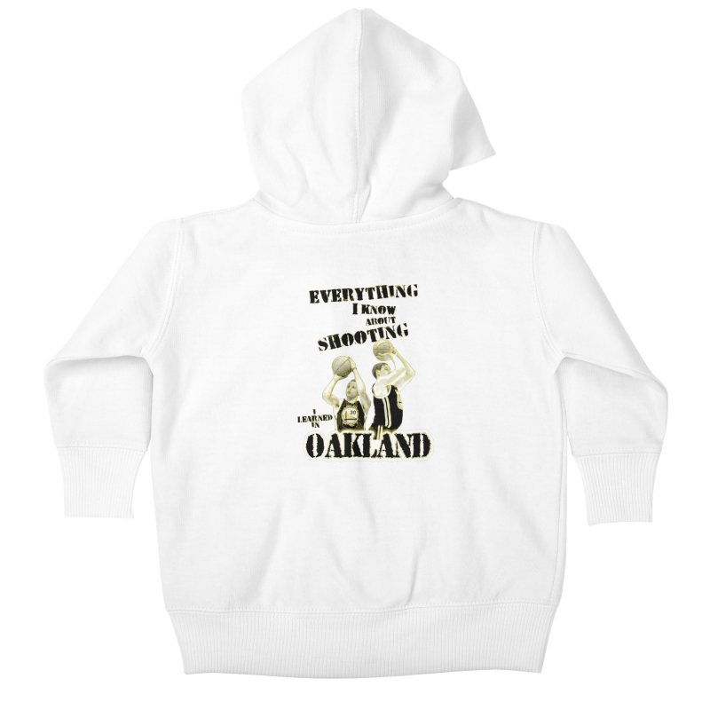 I Learned Things in Oakland Kids Baby Zip-Up Hoody by Mike Hampton's T-Shirt Shop