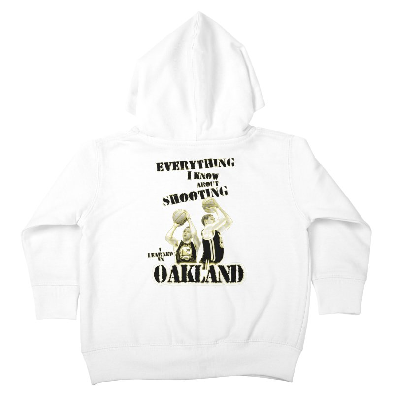 I Learned Things in Oakland Kids Toddler Zip-Up Hoody by Mike Hampton's T-Shirt Shop