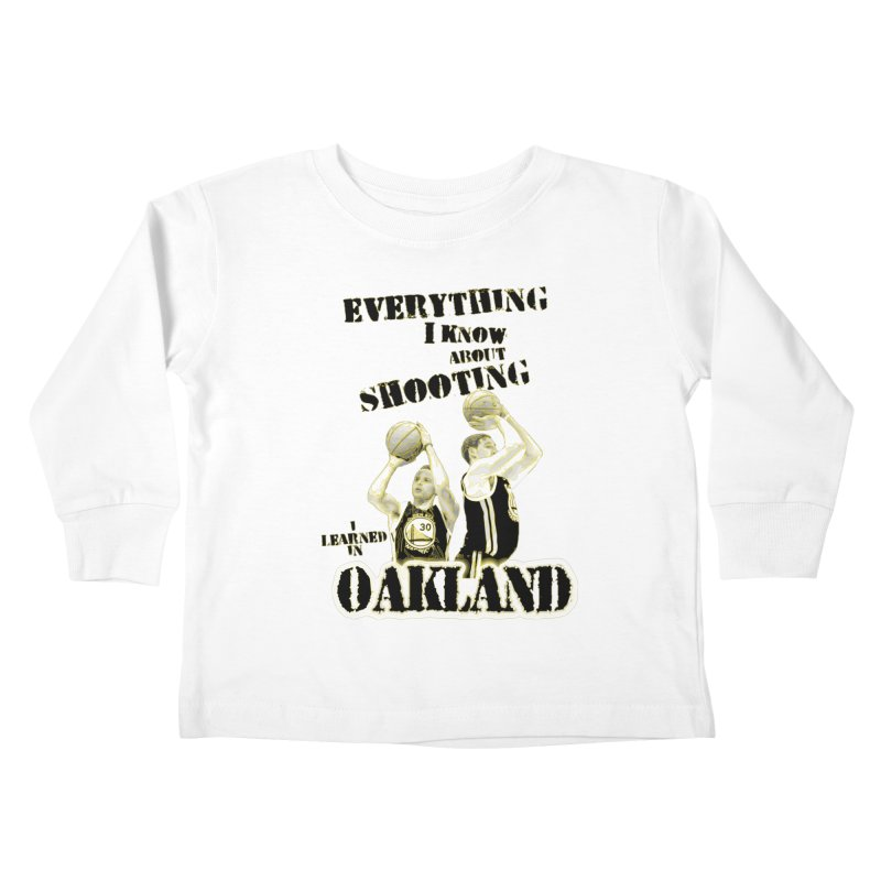 I Learned Things in Oakland Kids Toddler Longsleeve T-Shirt by Mike Hampton's T-Shirt Shop