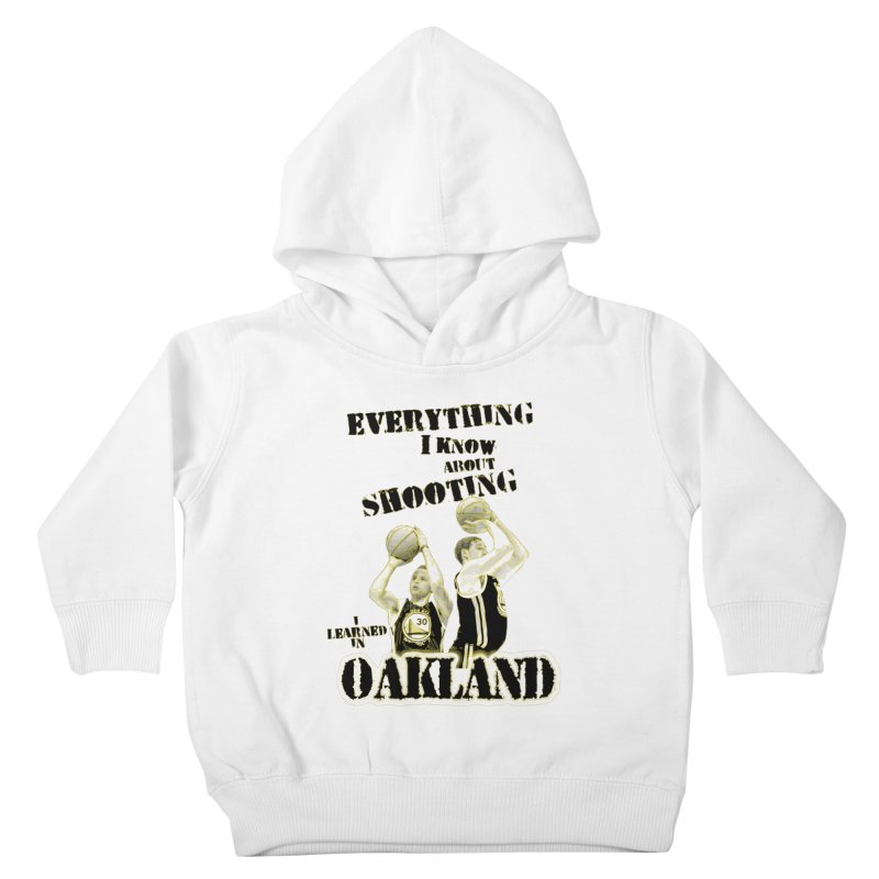 I Learned Things in Oakland Kids Toddler Pullover Hoody by Mike Hampton's T-Shirt Shop