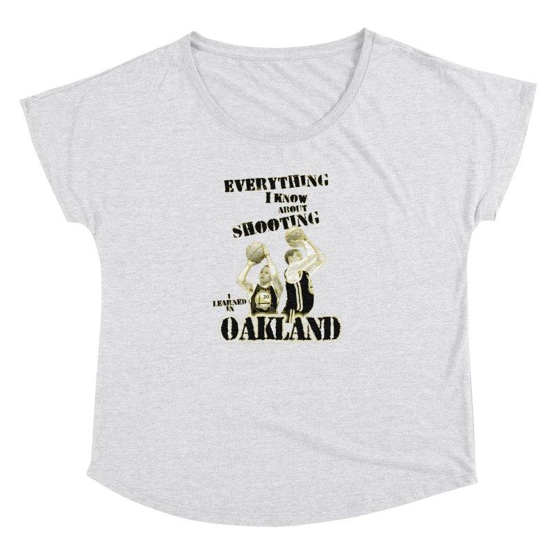 I Learned Things in Oakland Women's Dolman Scoop Neck by Mike Hampton's T-Shirt Shop