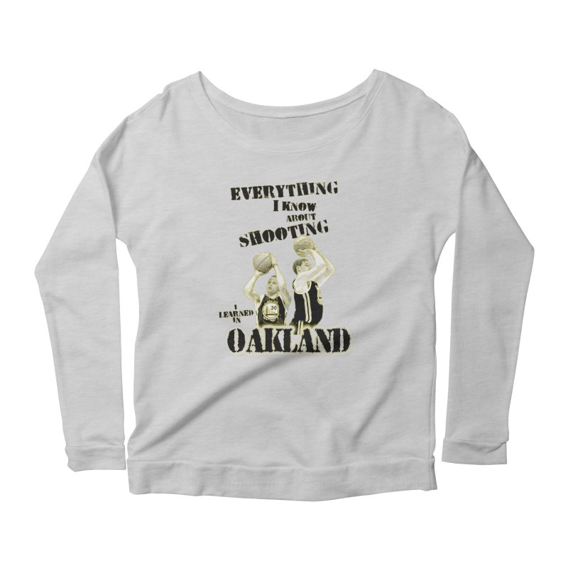 I Learned Things in Oakland Women's Scoop Neck Longsleeve T-Shirt by Mike Hampton's T-Shirt Shop