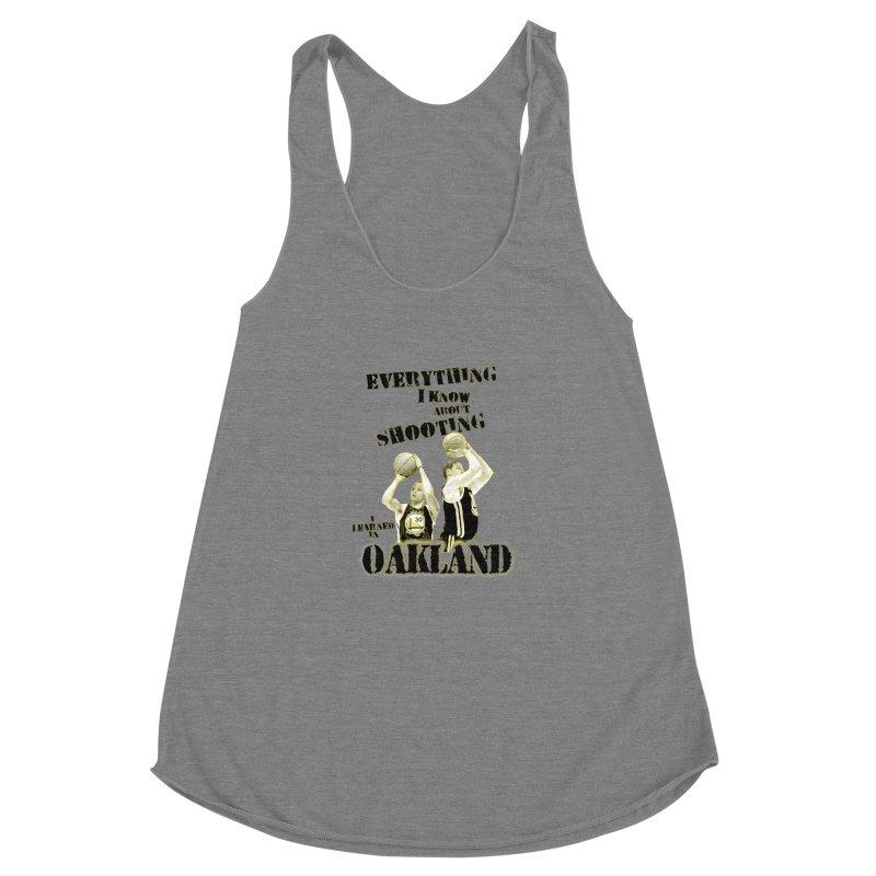 I Learned Things in Oakland Women's Racerback Triblend Tank by Mike Hampton's T-Shirt Shop