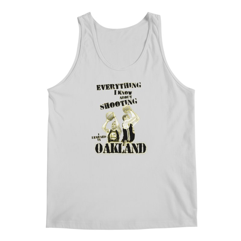 I Learned Things in Oakland Men's Regular Tank by Mike Hampton's T-Shirt Shop