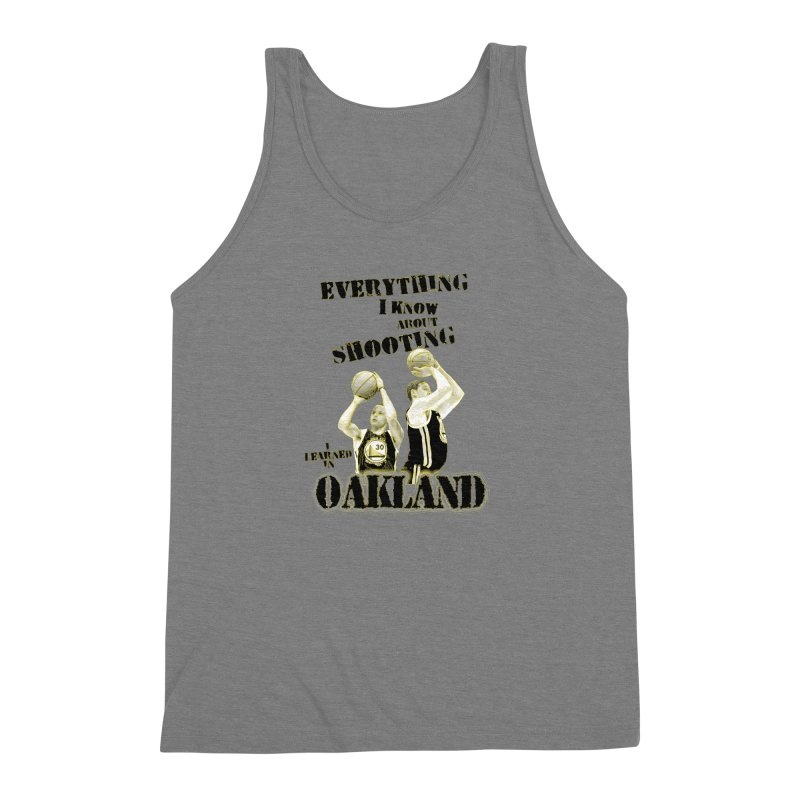 I Learned Things in Oakland Men's Triblend Tank by Mike Hampton's T-Shirt Shop
