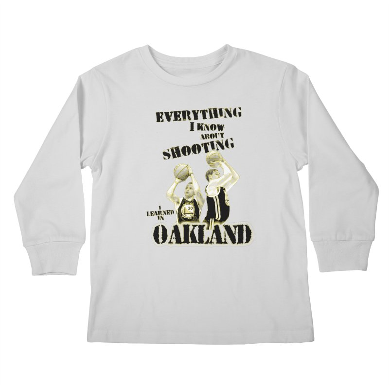 I Learned Things in Oakland Kids Longsleeve T-Shirt by Mike Hampton's T-Shirt Shop