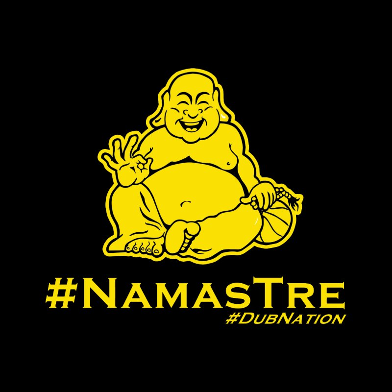 NamasTre (Fat Buddha) version by Mike Hampton's T-Shirt Shop