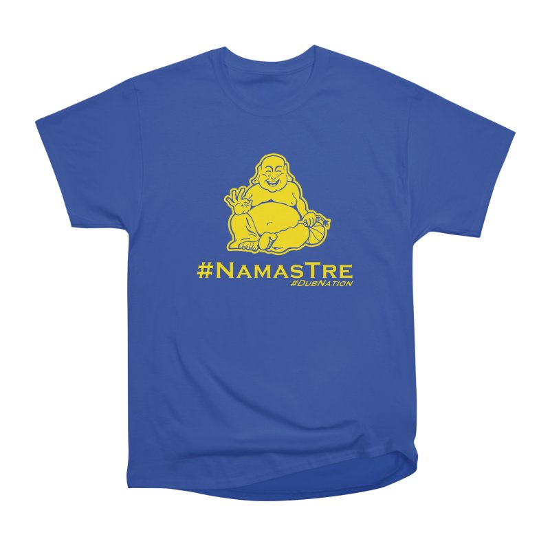 NamasTre (Fat Buddha) version Women's Heavyweight Unisex T-Shirt by Mike Hampton's T-Shirt Shop