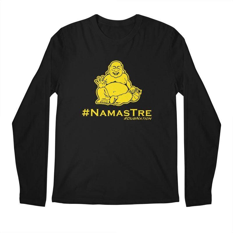 NamasTre (Fat Buddha) version Men's Regular Longsleeve T-Shirt by Mike Hampton's T-Shirt Shop