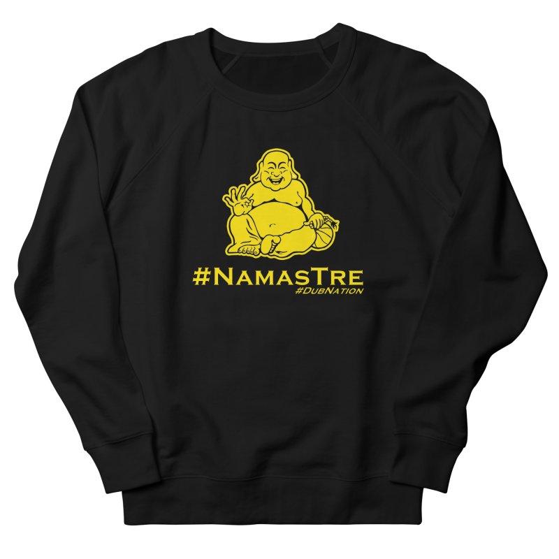 NamasTre (Fat Buddha) version Women's French Terry Sweatshirt by Mike Hampton's T-Shirt Shop