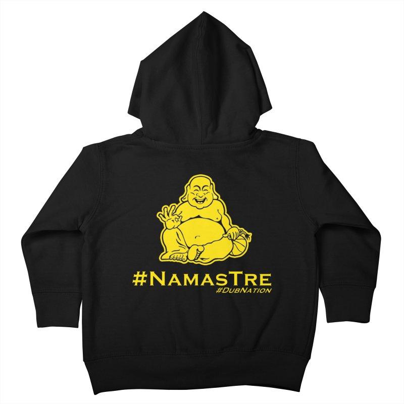 NamasTre (Fat Buddha) version Kids Toddler Zip-Up Hoody by Mike Hampton's T-Shirt Shop