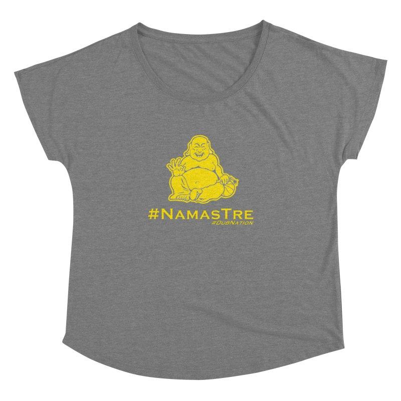 NamasTre (Fat Buddha) version Women's Dolman Scoop Neck by Mike Hampton's T-Shirt Shop