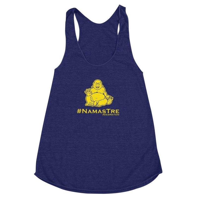 NamasTre (Fat Buddha) version Women's Racerback Triblend Tank by Mike Hampton's T-Shirt Shop
