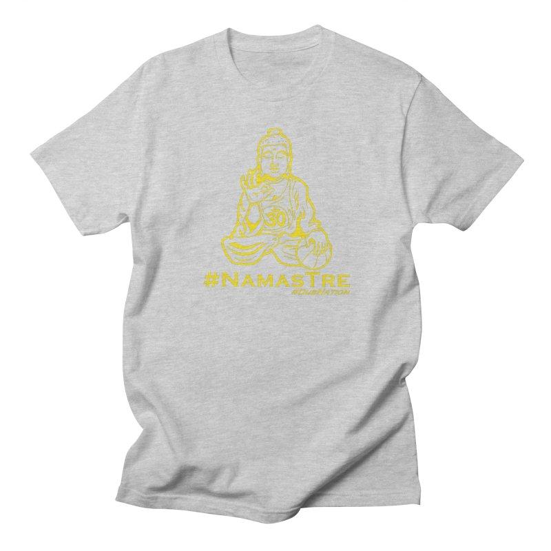 Namastre (Thin Buddha) version Women's Regular Unisex T-Shirt by Mike Hampton's T-Shirt Shop