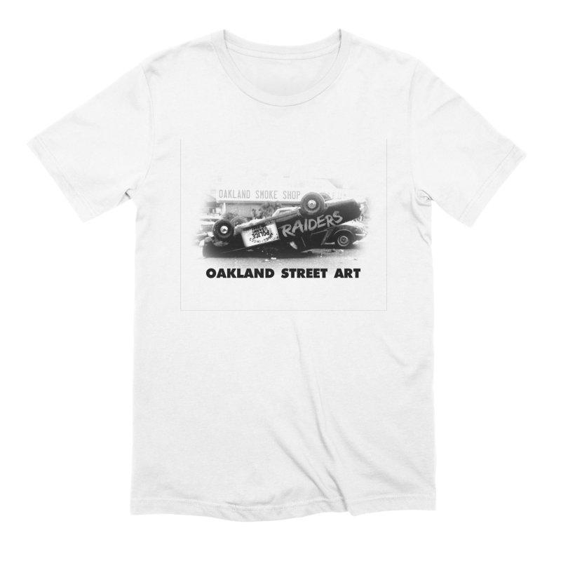 Oakland Street Art Men's Extra Soft T-Shirt by Mike Hampton's T-Shirt Shop