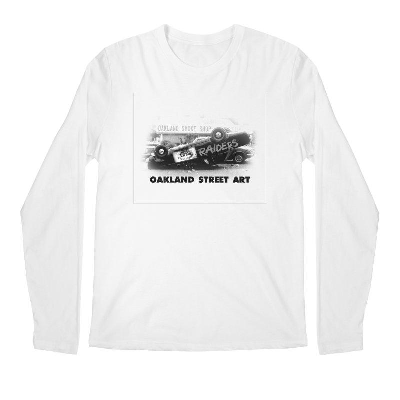 Oakland Street Art Men's Regular Longsleeve T-Shirt by Mike Hampton's T-Shirt Shop