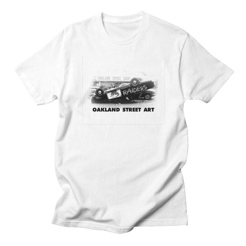 Oakland Street Art Men's Regular T-Shirt by Mike Hampton's T-Shirt Shop