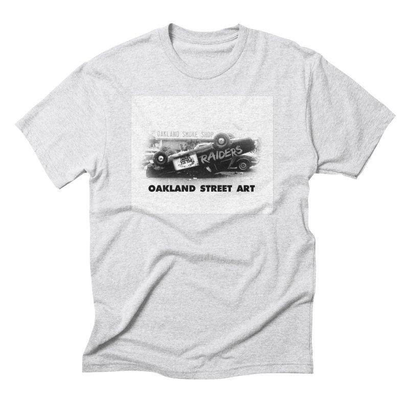 Oakland Street Art Men's Triblend T-Shirt by Mike Hampton's T-Shirt Shop