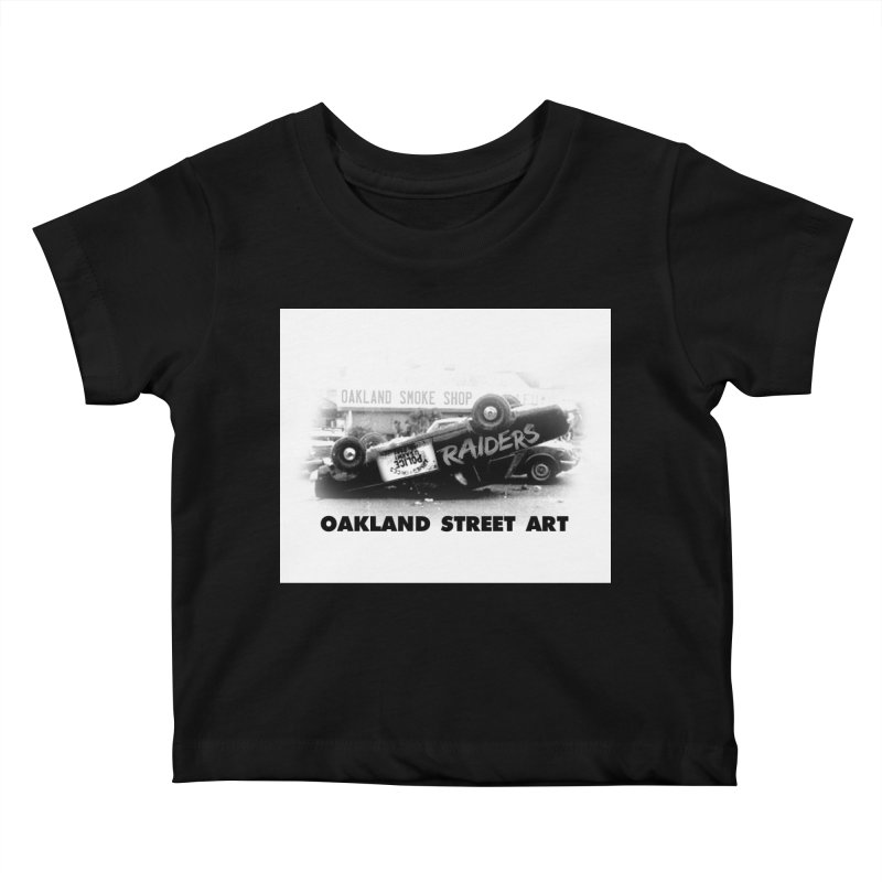 Oakland Street Art Kids Baby T-Shirt by Mike Hampton's T-Shirt Shop