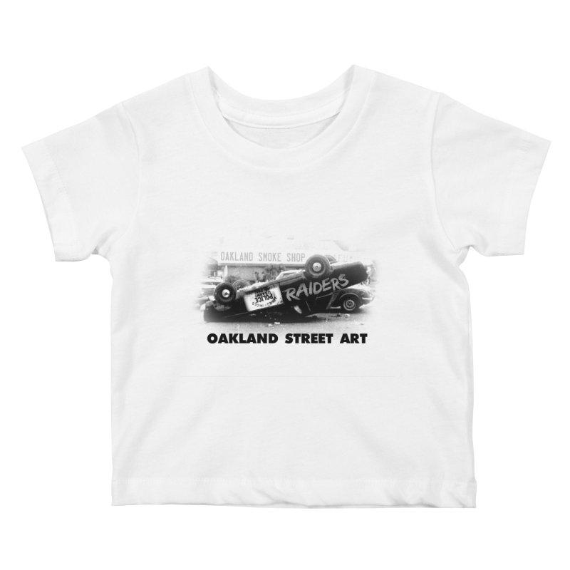 Oakland Street Art Kids Baby T-Shirt by Mike Hampton's T-Shirt Shop