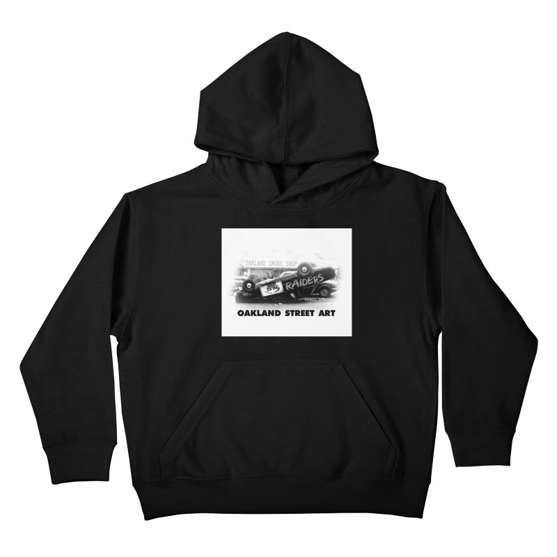 Oakland Street Art Kids Pullover Hoody by Mike Hampton's T-Shirt Shop