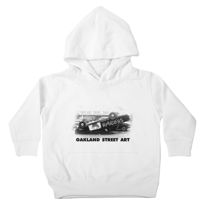 Oakland Street Art Kids Toddler Pullover Hoody by Mike Hampton's T-Shirt Shop