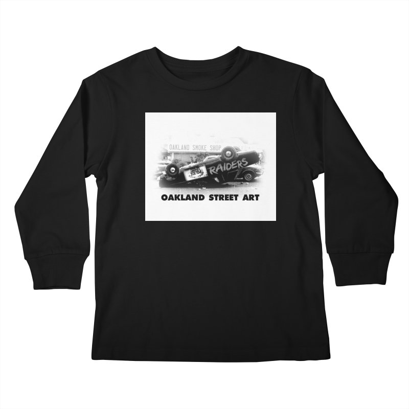 Oakland Street Art Kids Longsleeve T-Shirt by Mike Hampton's T-Shirt Shop