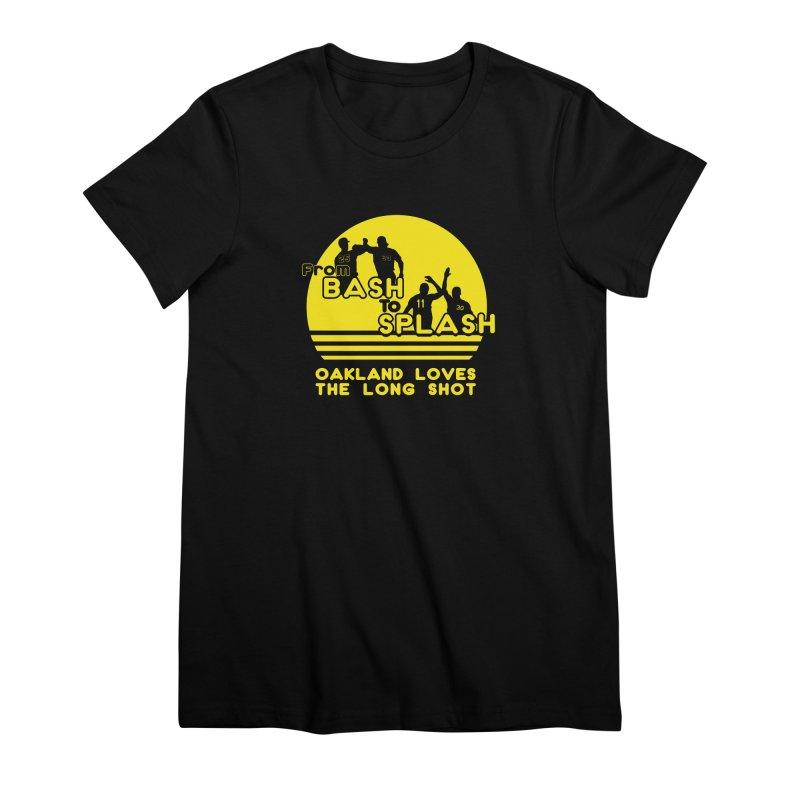 Bash 2 Splash Women's Premium T-Shirt by Mike Hampton's T-Shirt Shop