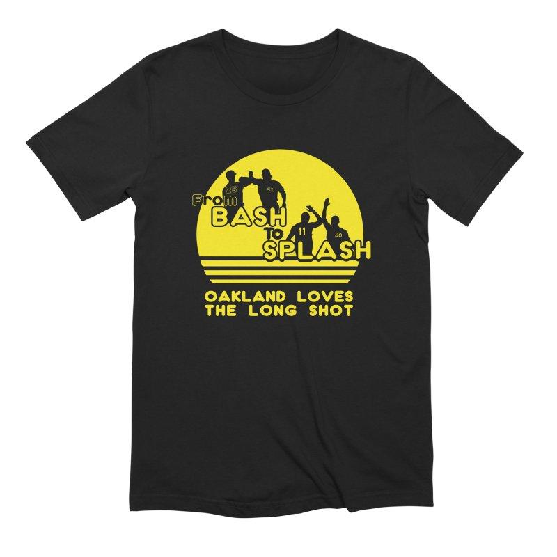 Bash 2 Splash Men's Extra Soft T-Shirt by Mike Hampton's T-Shirt Shop