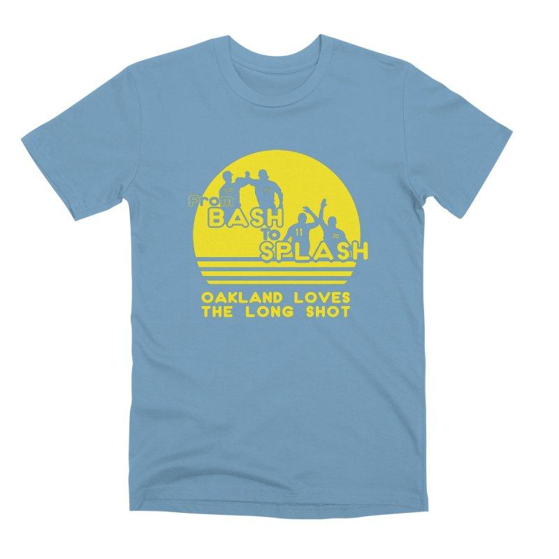 Bash 2 Splash Men's Premium T-Shirt by Mike Hampton's T-Shirt Shop