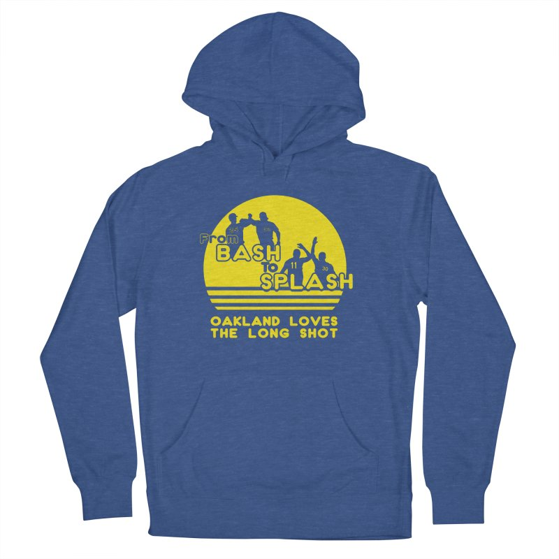 Bash 2 Splash Men's French Terry Pullover Hoody by Mike Hampton's T-Shirt Shop