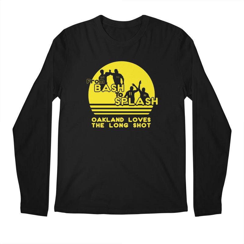 Bash 2 Splash Men's Regular Longsleeve T-Shirt by Mike Hampton's T-Shirt Shop