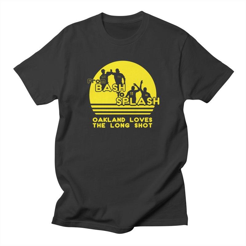 Bash 2 Splash Men's Regular T-Shirt by Mike Hampton's T-Shirt Shop