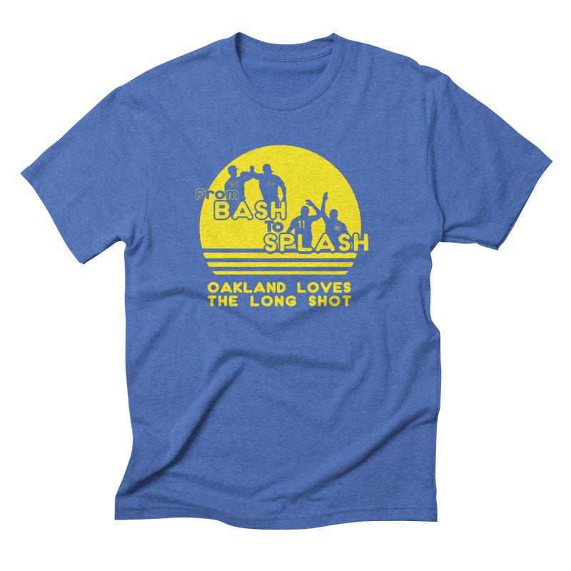 Bash 2 Splash Men's Triblend T-Shirt by Mike Hampton's T-Shirt Shop