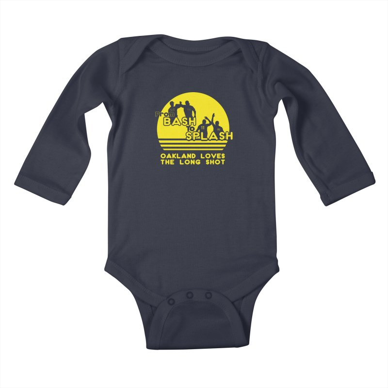 Bash 2 Splash Kids Baby Longsleeve Bodysuit by Mike Hampton's T-Shirt Shop